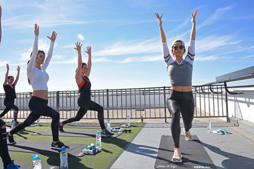 Audrina Patridge QALO Launches Stackables Collection With Karena and Katrina From Tone It and Audrina Patridge