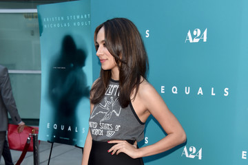 Aurora Perrineau Premiere of A24's 'Equals' - Arrivals