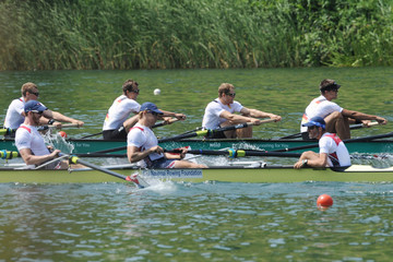 Austin Hack Samsung World Rowing Cup III in Lucerne: Day 3