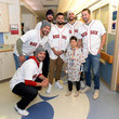 Austin Maddox Boston Red Sox Deliver Smiles and Laughter at Boston Children's Hospital With Holiday Caravan