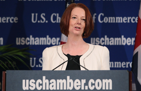 julia gillard 2011. In This Photo: Julia Gillard