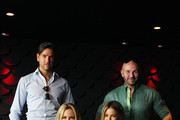 Didier Cohen, Alex Perry, Charlotte Dawson and Jennifer Hawkins pose during a photo call on the eve of the 'Australia's Next Top Model' Finale at the Star on September 23, 2013 in Sydney, Australia.