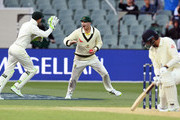 Tim Paine and James Vince Photos Photo