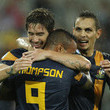 Harry Kewell and Archie Thompson Photos