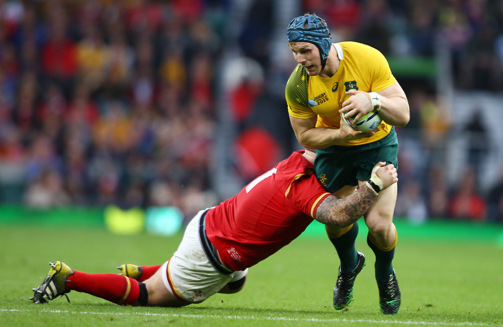 Paul James in Australia v Wales - Group A: Rugby World Cup ...
