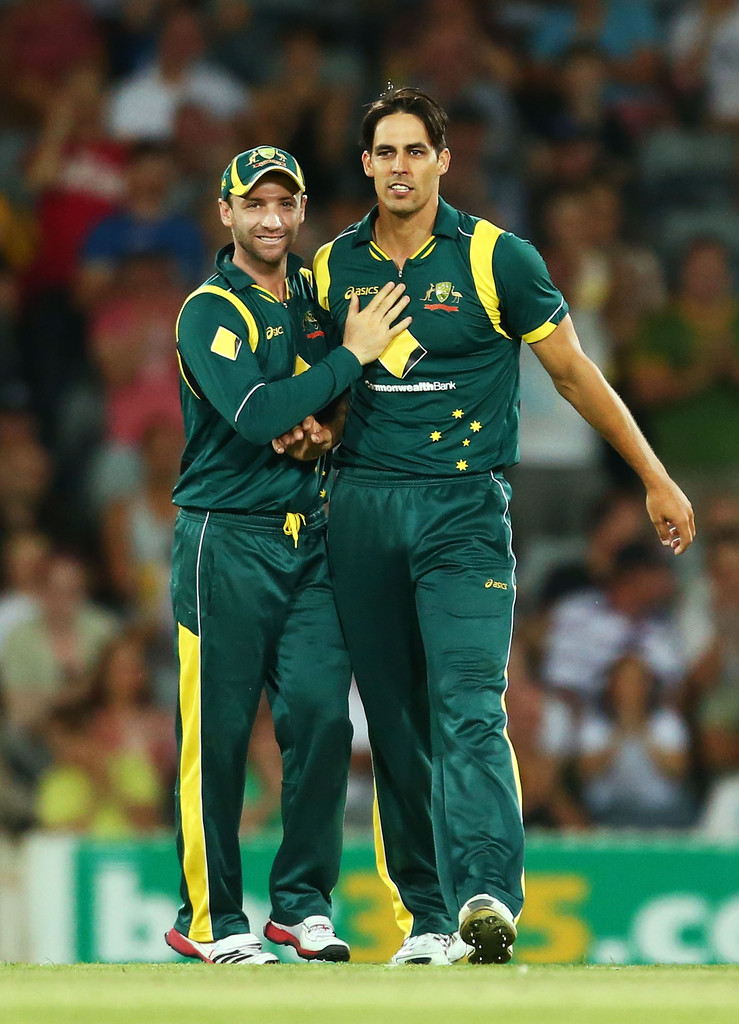 Mitchell Johnson Hairstyle Mitchell Johnson Australia v