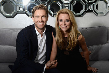 Eliza Taylor with friendly, fun, enchanting, Boyfriend Brett Tucker