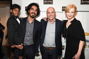 """Actor Sunny Pawar, Dev Patel, Senior Executive Vice President of Qantas Stephen Thompson and Nicole Kidman attend Australians In Film Presents """"Lion"""" Screening and Q&A at Harmony Gold Theatre on December 10, 2016 in Los Angeles, California."""