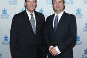 Michael Morris (L) and Roy Harvey attend the Autism Speaks: Game Changers Gala 2017 at Mandarin Oriental New York on June 13, 2017 in New York City.