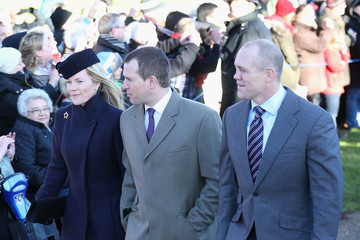 Autumn Phillips The Royal Family Attends Christmas Day Service