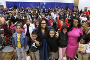 "Director Ava DuVernay and City of Compton Mayor, Aja Brown attend a special advance private screeing of ""A Wrinkle in Time"" attended by students from various middle schools around the city of Compton on March 2, 2018 in Compton, California."