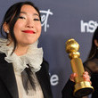 Awkwafina The 2020 InStyle And Warner Bros. 77th Annual Golden Globe Awards Post-Party - Red Carpet