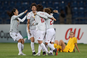 Aya Sameshima Japan Vs. Australia - AFC Women's Asian Cup Final