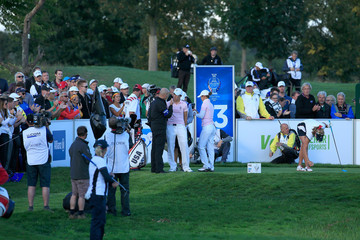 Azahara Munoz The Solheim Cup - Day Two
