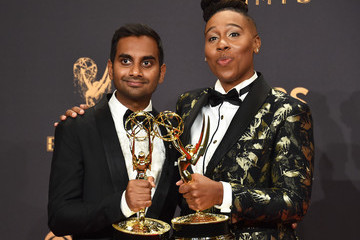 Aziz Ansari 69th Annual Primetime Emmy Awards - Press Room