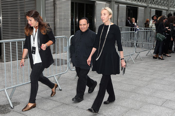 Azzedine Alaia Saint Laurent : Outside Arrivals - Paris Fashion Week - Menswear S/S 2015