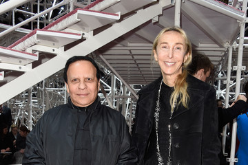 Azzedine Alaia Front Row at Christian Dior
