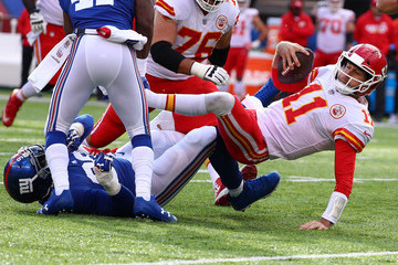 B.J. Goodson Kansas City Chiefs v New York Giants