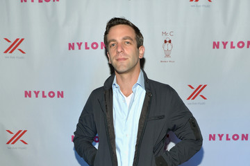 B.J. Novak NYLON + Sony September TV Issue Launch Event With Cover Star, Lea Michele
