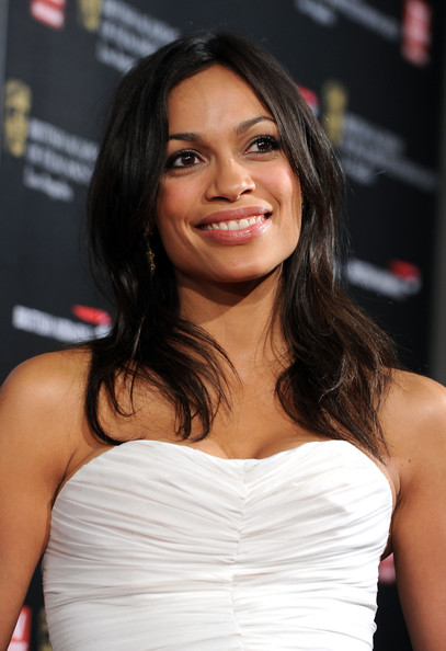 Actress Rosario Dawson arrives at the BAFTA Los Angeles 2010 Britannia Awards held at the Hyatt Regency Century Plaza on November 4, 2010 in Century City, California. The BAFTA Los Angeles 2010 Brittania Awards will be aired on the TV Guide Channel on November 7th, 2010.