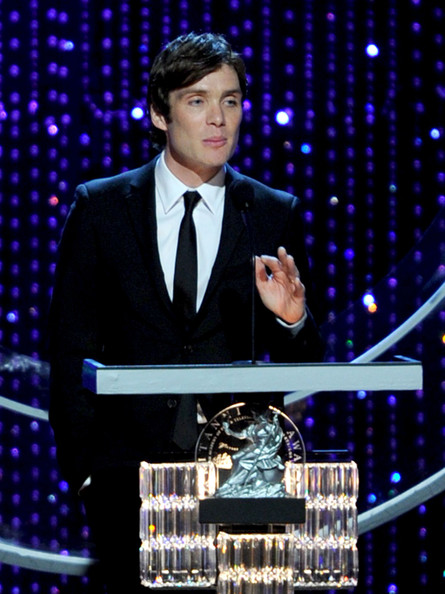 (EXCLUSIVE COVERAGE)  Actor Cillian Murphy onstage during the BAFTA Los Angeles 2010 Britannia Awards held at the Hyatt Regency Century Plaza on November 4, 2010 in Century City, California. The BAFTA Los Angeles 2010 Brittania Awards will be aired on the TV Guide Channel on November 7th, 2010.