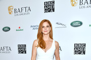 Sarah Rafferty attends the BAFTA Los Angeles + BBC America TV Tea Party 2019 at The Beverly Hilton Hotel on September 21, 2019 in Beverly Hills, California.