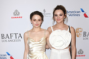 (L-R) Joey King and Hunter King attend The BAFTA Los Angeles Tea Party at Four Seasons Hotel Los Angeles at Beverly Hills on January 04, 2020 in Los Angeles, California.