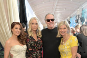 Hilary Roberts, Margaret DeVogelaere, Peter Fonda and Chantal Rickards attend the BAFTA Tea Party at Four Seasons Hotel Los Angeles at Beverly Hills on January 05, 2019 in Los Angeles, California.