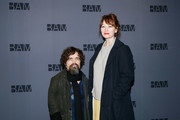 """Actor Peter Dinklage and actress Erica Schmidt attend the opening night party for """"Medea"""" at the BAM Harvey Theater on January 30, 2020 in New York City."""