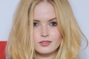 """Ellie Bamber attends a photocall for BBC One's """"Les Miserables"""" at BAFTA on December 05, 2018 in London, England."""