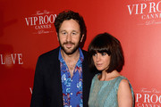 Actor Chris O'Dowd and Dawn Porter arrive at The (BELVEDERE)RED Party in Cannes featuring Cyndi Lauper at VIP Rooms at The JW Marriott on May 18, 2012 in Cannes, France.  (Photo by Ian Gavan/Getty Images for (BELVEDERE)RED)