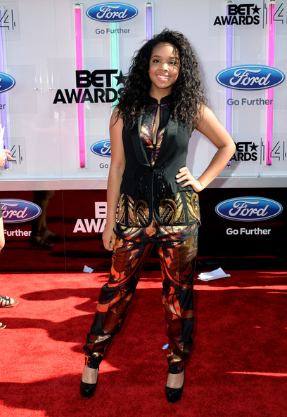 Singer Gabi Wilson attends the BET AWARDS '14 at Nokia Theatre L.A. LIVE on June 29, 2014 in Los Angeles, California.