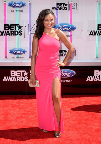 Actress Joyful Drake attends the BET AWARDS '14 at Nokia Theatre L.A. LIVE on June 29, 2014 in Los Angeles, California.