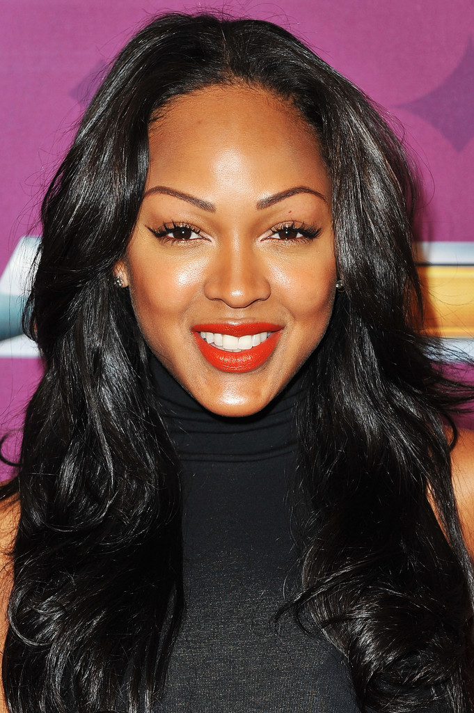 Meagan Good In Bet S Black Girls Rock 2012 Chevy Red