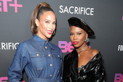 "BET+ And Footage Film's ""Sacrifice"" Premiere Event At The Landmark Theater In Los Angeles"