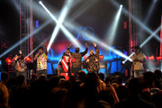 Plies, Trick Daddy, T-Pain, Rick Ross, and DJ Khaled perform onstage during the BET Hip Hop Awards 2017 at The Fillmore Miami Beach at the Jackie Gleason Theater on October 6, 2017 in Miami Beach, Florida.