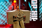 Host Deray Davis speaks onstage during the BET Hip Hop Awards 2018 at Fillmore Miami Beach on October 6, 2018 in Miami Beach, Florida.