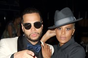 """(L-R) Rapper Joshua Gunn and choreographer Laurieann Gibson attend BET """"Music Moguls"""" Premiere Event at 1OAK on June 27, 2016 in West Hollywood, California."""