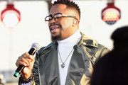Raheem Devaughn performs onstage during the Pre Show of the 2018 Soul Train Awards, presented by BET, on November 17, 2018 in Las Vegas, Nevada.