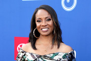 MC Lyte attends the 2018 Soul Train Awards, presented by BET, on November 17, 2018 in Las Vegas, Nevada.