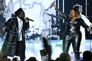 Wale and Kelly Price perform onstage at the 2019 Soul Train Awards presented by BET at the Orleans Arena on November 17, 2019 in Las Vegas, Nevada.