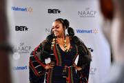 Jill Scott attends the 51st NAACP Image Awards, Presented by BET, at Pasadena Civic Auditorium on February 22, 2020 in Pasadena, California.