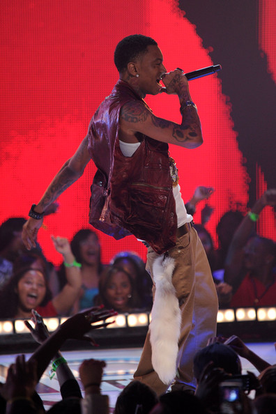 Recording artist Soulja Boy performs onstage at BET's Rip The Runway 2010 at the Hammerstein Ballroom on February 27, 2010 in New York City.