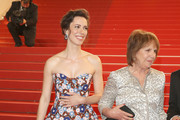 """Rebecca Hall (L) and Penelope Wilton attend """"The BFG (Le Bon Gros Geant - Le BGG)"""" premiere during the 69th annual Cannes Film Festival at the Palais des Festivals on May 14, 2016 in Cannes, France."""