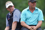 Darren Clarke and Colin Montgomerie Photos Photo