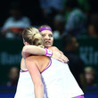 Lucie Safarova and Petra Kvitova Photos