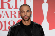 *** EDITORIAL USE ONLY IN RELATION TO THE BRIT AWARDS 2018***  Marvin Humes attends The BRIT Awards 2018 held at The O2 Arena on February 21, 2018 in London, England.