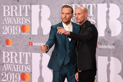 Matt Goss and Luke Goss attends The BRIT Awards 2019 held at The O2 Arena on February 20, 2019 in London, England.