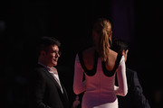 Jimmy Carr and Karlie Kloss Photos Photo