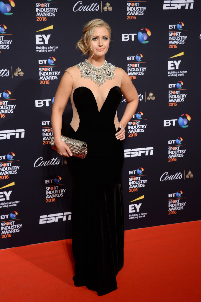 April Calendar London : Hayley mcqueen photos bt sport industry awards